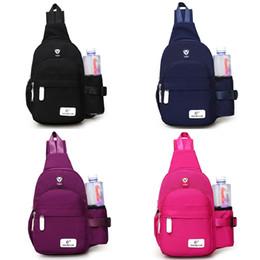 Single Shoulder Strap Packs Australia - New Arrival Oxford Men Women Single Shoulder Strap Back Bag Crossbody Bags for Women Sling Shoulder Bag Back Pack Travel