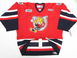 Cheap custom BARRIE COLTS OHL CHL RED PRO CCM HOCKEY JERSEY Personalized  stitching hockey jerseys 7d2757472