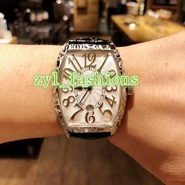 $enCountryForm.capitalKeyWord Australia - Top Luxury Men's Watch White Dial Black Strap Watches World-renowned Luxury Watch Brand Automatic Mechanical Sports Watch