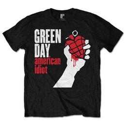 Music Man T Shirt Australia - Green Day American Idiot Rock Music Punk Licensed Tee T-Shirt Men T Shirt Men Creative Short Sleeve Cotton Custom Plus Size Family Tee Shirt