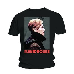 High Low Tee Shirts NZ - David Bowie Low Portrait Rock Licensed Tee T-shirt Men Design T Shirt Men's High Quality Fashion Classic Top Tee