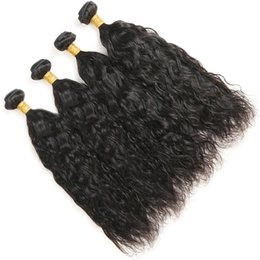 $enCountryForm.capitalKeyWord NZ - MalaysianVirgin Hair Natural Wave 4 Bundles Unprocessed Malaysian Hair Bundles Human Hair Extensions Natural Black Color Free Shipping