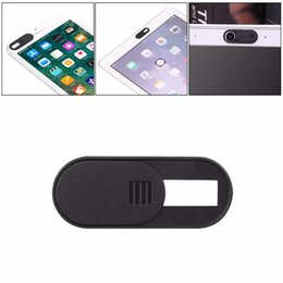 Wholesale Mini Web Cam Cover Shutter Magnet Slider Plastic Camera Cover For IPad Web Laptop PC Mac Tablet Privacy dropshipping