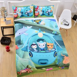 $enCountryForm.capitalKeyWord Canada - Children Cartoon Design Bedding Set Of 3PC Duvet Cover Set Quilt Cover & Pillowcase Twin Full Queen King Size