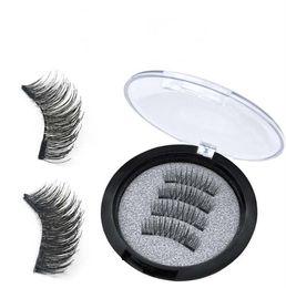 $enCountryForm.capitalKeyWord NZ - Brand New 2 Magnetic False Eyelashes Natural Long Dual Magnets Fake Lashes comes with retial box DHL Free