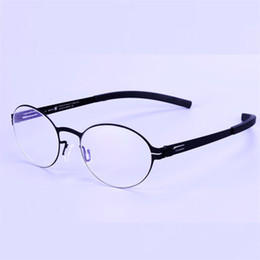 4b4b6b250ac Vintage Style glass frames Screwless eyeglasses Retro glasses frame for men  and women Oculos prescription optical eyewear
