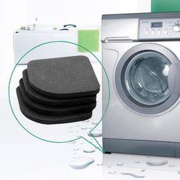 Discount quality mats - 4pcs set High Quality Washing machine shock pads Non-slip mats Refrigerator Anti-vibration pad