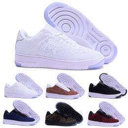 1418f14c 2018 Nike Air Force one 1 flyknit one af1 flyknit low горячие продажи  дешевые Высокое качество одного мужчины женщин работает обувь Unisex  массажем досуг ...