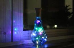 $enCountryForm.capitalKeyWord Australia - 10 LED Solar Wine Bottle Stopper Copper Fairy Strip Wire Outdoor Party Decoration Novelty Night Lamp DIY Cork Light String lin4393