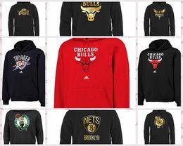 2663bbd43 Atlanta Hawks Boston Celtics Brooklyn Nets Charlotte Hornets Chicago Bulls Gold  Collection Pullover Hoodie Black