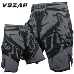 Chinese  2018 New VSZAP SHADOW HUNTER Shorts MMA Fitness Combat Fight Wear Thai Sanda High Quality Does Not Fade Brand Clothing VS015 manufacturers