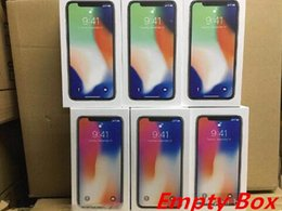 Apple iphone pAcking box online shopping - Original OEM Quality US EU Version Phone Packing Box Empty Package Boxes for iphone x plus without accessories