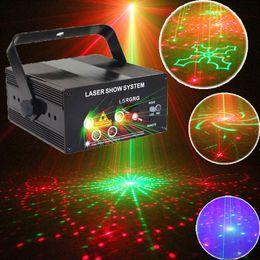 La mini luce della discoteca di illuminazione della fase del proiettore del laser ha condotto le luci del partito e la macchina della luce di ballo del centro di musica sui fari del telecomando in Offerta