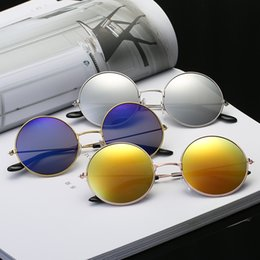 885a4cab93e8 Women Round Sunglasses Brand Vintage Sun Glasses For Men Ladies Designer  Gold Frame Retro Eyeglasses Oculos de Sol discount brands for eyeglasses
