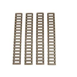 Handguard Rail Covers Australia - Y7786-BE Ladder Rail Panel Handguard Protector Resistant Cover Trapezoidal Train Track Fishbone Strip