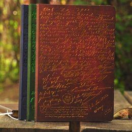 $enCountryForm.capitalKeyWord Australia - Hot Vintage notebook paper 96 Sheets Notepad Personal Diary Hard Copybook Office School Supplies Gift