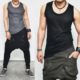9011a4f6 Mens Workout Muscle Shirt Canada - Gyms clothing Mens stringer tank top men  fitness vest Sporting