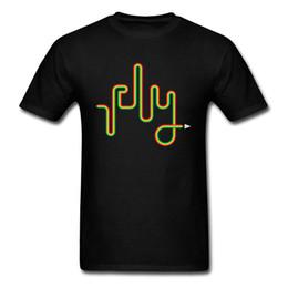 Fly Paper UK - Fly 2018 Thin Line Letter Designer Black T Shirt Men Paper Plane Printed Tops Tees Simple Summer Clothing Hip Hop T Shirt