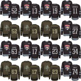 James Reimer Jersey Canada - Men s Custom 2018 Florida Panthers 17 Derek  MacKenzie 19 Michael Matheson 642f3871c