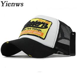 9ead2f38be5b6 Baseball Summer Hats for Men Women Mesh Net Baseball Caps WESTE Bone  Trucker Hats Curve Brim Cap Casquette Homme YIC644