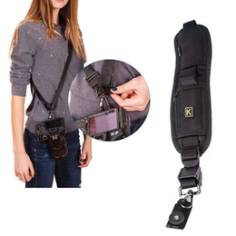 Dslr Camera Bags Wholesalers NZ - SLR neck straps Quick sling belts Quick Rapid shoulders SLR Camera Strap Neck Shoulder Belt Strap DSLR camera strap for Nikon Canon Sony