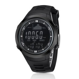 d6fa29d77 Outdoor Fishing Altimeter Barometer Thermometer Altitude Digital Watches  Clock Climbing Hiking Sports Watch Montre Homme