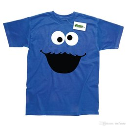 770b16abe Hot Sale Fashion COOKIE MONSTER INSPIRED PRINTED FUNNY T-SHIRT Men's Shirts  Men Clothes Novelty Cool