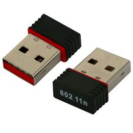 150M USB Adattatore Wifi 150 Mbps Wireless N 802.11 b / g / n Ralink RT5370 Mini Scheda di rete 100 pz / lotto DHL libero in Offerta