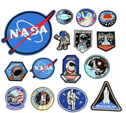 Korean accessories factory online shopping - Embroidery cloth sticker astronaut air force diver DIY patch patch factory spot CLOTH BADGE Fabric and Sewing