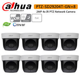 2mp Ip Camera Dome Dahua Australia - Dahua DH-SD29204T-GN 2Mp Network Mini IP Speed Dome 4x optical zoom PTZ ip camera built-in MIC SD29204T-GN with logo