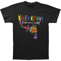 Men T Shirt Gun Australia - Killer Klowns From Outer Space Men'S Popcorn Gun Slim Fit T-Shirt Black T Shirt Men Boy White Short Sleeve Fashion Custom XXXL Couple