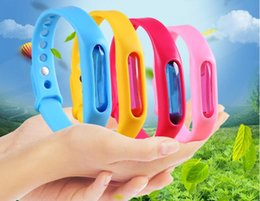 $enCountryForm.capitalKeyWord NZ - 10Pcs Anti Mosquito Pest Insect Bugs Repellent Repeller Wrist Band Bracelet Wristband Protection mosquito Deet-free non-toxic Safe Bracelet