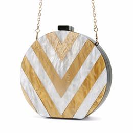 $enCountryForm.capitalKeyWord NZ - 2017 New Fashion Mini Plastic Acrylic Handbag One Shoulder Cross-body Bags Small Round Package Women bag Acrylic Clutch Box Bag