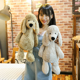 Discount dogs toy poodle - 50CM Poodle Plush Toys Dog 40CM 30CM 20inch 12inch 16inch Cushion stuffed Animals Soft Sleeping Pillows Dolls Xmas Hallo