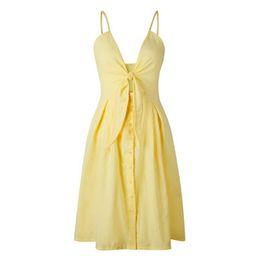 $enCountryForm.capitalKeyWord UK - Hot Sale Women Deep V Hollow Out Summer Dress Beachwear Holiday Split Lace-up Dress Kaftan White Boho Long Maxi Dresses Swimwear