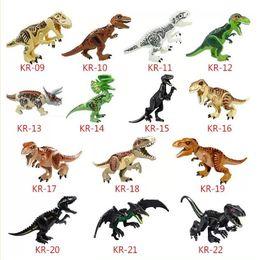 Triceratops In Lot Of 15 Dinosaurs Toy Plastic Model Dimetrodon Style; Ankylosaur & More Fashionable