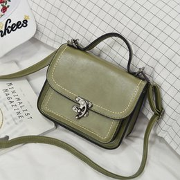 Ms car suture popular PU leather shoulder bag Japanese style girl small bag e5a18dce0a