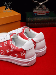 89bc970dfb1b White and red Flat shoes 2058 shoes guan Men Dress Shoes BOOTS LOAFERS  DRIVERS BUCKLES SNEAKERS SANDALS