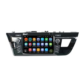 mp3 player built 4gb Canada - Car DVD player for Toyota LEVIN 8inch Andriod 8.0 Octa core 4GB RAM with GPS,Steering Wheel Control,Bluetooth, Radio
