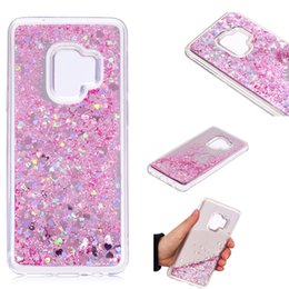 $enCountryForm.capitalKeyWord NZ - Cover For Samsung Galaxy S9 Case Quicksand Flash Glitter Powder Mirror Hard Mobile phone Cases Covers For Samsung S9