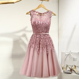 4390e97fd78d Vestidos Cortos Ocasionales De La Dama De Honor Púrpuras Online ...