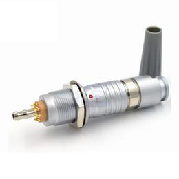 Pneumatic connectors online shopping - FGG EGG B Pin Plus Way Push Pull Self lock Plug Socket Electrical Pneumatic Mixed Connector