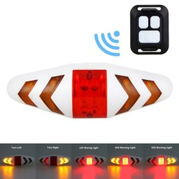 $enCountryForm.capitalKeyWord NZ - Smart Remote Control Bike Lamp Wireless Rear Light Bicycle Seat Mount LED Warning Taillight Turning Control Signal Tail Lamp