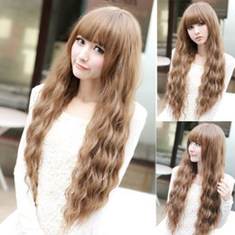 sexy wavy hair Australia - New Hot Sexy Women Lady Cosplay Wavy Curly Long Hair Full Party Costume Wigs