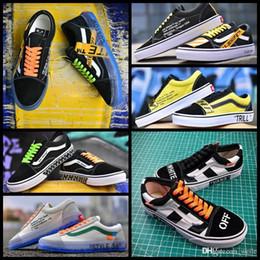 66db1f2b34d Custom skate online shopping - 2018 Fashion Old Skool Canvas Casual Shoes  Men Women Skateboard X