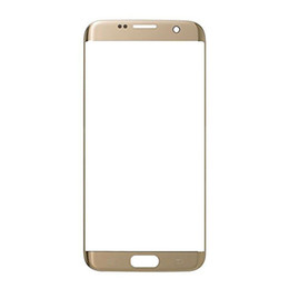 Discount glasses displays - OEM Front Screen Glass Lens For Samsung Galaxy S7 Edge G935 G935F G935A G935 Outer Len Glass Screen Display Replacement