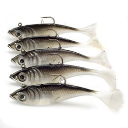 $enCountryForm.capitalKeyWord UK - Soft Lures 5pcs lot 10.5g 8cm Fishing Shad Worm Baits Jig Head Fly Fishing Sea Bass Carp Wobbler Bait Fishing Lures