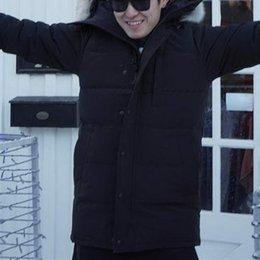$enCountryForm.capitalKeyWord Australia - Fashion Winter Down Parkas Warm Men Hoodies Brand Designer Fur Long Cason Jacket Thick Clothing Outdoor Mens Warm Coats online Sale