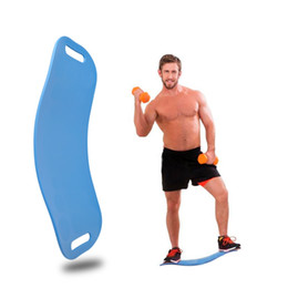 foot boards 2019 - OUTAD Sport Exercise Physical Balance Board Foot Leg Body Training Yoga Board For Twisting Waist Torsion Solid Color che