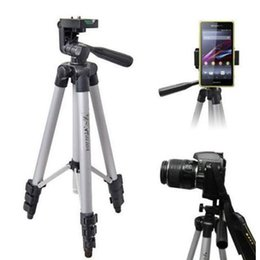 tripod stand for dslr 2018 - Lightweight Telescopic Camera Tripod Stand Holder for Gopro DSLR for Smartphone Action Camera Mount Monopod Holder disco